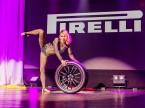 Die Pirelli Color Edition wurde auf kreative Weise präsentiert.