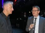 Der scheidende Scout24-CEO Olivier Rihs (l.) im Gespräch mit Marcel Stocker von Digital Enterprise.