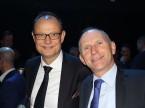 Giorgio Feitknecht, CEO der ESA, und Auto-Schweiz-Direktor Andreas Burgener.