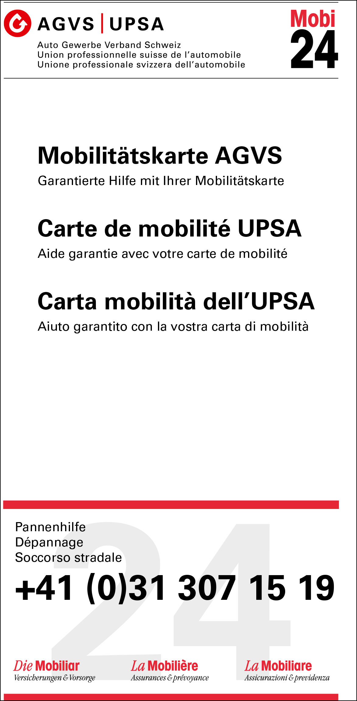 Iframe | AGVS | UPSA - Sektion Bern